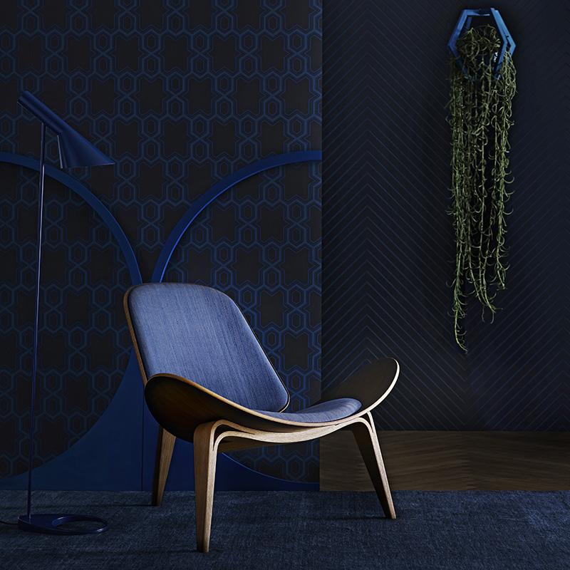 AD architettura di interni presenta la sedia Shell di Hans J Wegner
